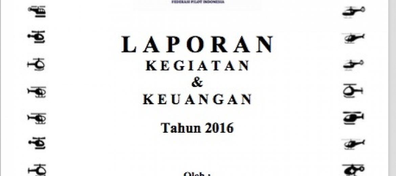 Laporan Kegiatan Organisasi 2016